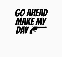 Go Ahead Make My Day Dirty Harry Quote Clint Eastwood Unisex T-Shirt