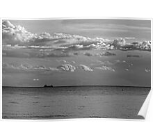 English Channel Seascape Poster