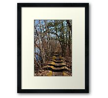 Between two worlds Framed Print