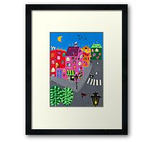 Small Paris Framed Print