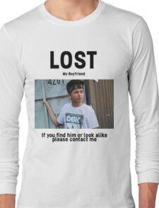 Lost Boyfriend: Jacob Sartorius (White Version) Long Sleeve T-Shirt
