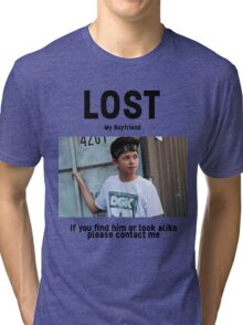 Lost Boyfriend: Jacob Sartorius (White Version) Tri-blend T-Shirt