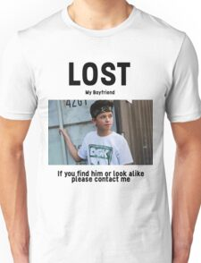 Lost Boyfriend: Jacob Sartorius (White Version) Unisex T-Shirt