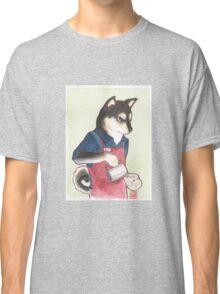 Barista Shiba Classic T-Shirt