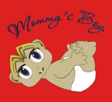 Mommy's Boy Blonde and Blue Eyes One Piece - Short Sleeve