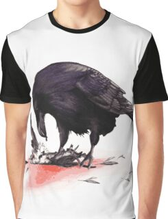 Crow, Bloody Snow 2 Graphic T-Shirt