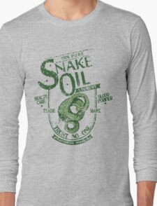 Trust No One... Snake Oil! Long Sleeve T-Shirt
