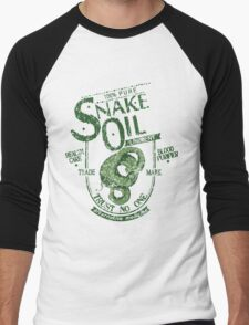 Trust No One... Snake Oil! Men's Baseball ¾ T-Shirt