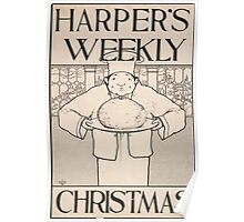 Artist Posters Harper's Weekly for Christmas 0773 Poster