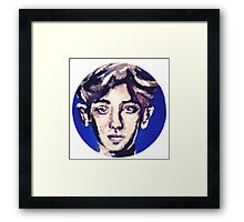 Chanyeol EXO painting Framed Print