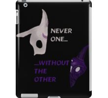 Kindred - Never one...without the other. iPad Case/Skin