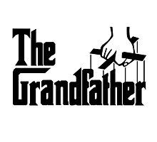 Grandfather Humour Godfather Joke Funny Comedy Photographic Print