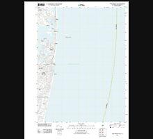 USGS TOPO Map New Jersey NJ Long Branch East 20110413 TM Unisex T-Shirt