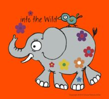 into the wild ellie... Kids Tee