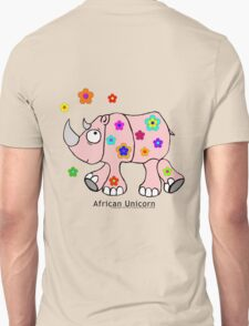 African Unicorn aka the Rhino T-Shirt