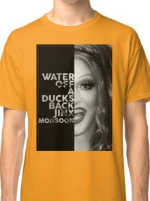 Jinx Monsoon Text Portrait Classic T-Shirt