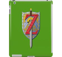A sword to the past iPad Case/Skin