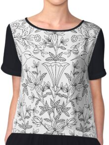 Hummingbirds Chiffon Top