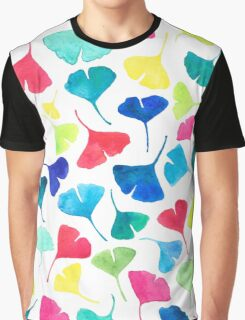 Peppy Ginkgo Graphic T-Shirt