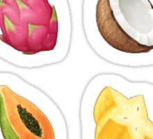 Exotic Fruits Sticker