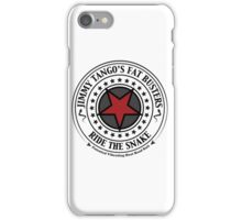 Jimmy Tango's Fat Busters! iPhone Case/Skin