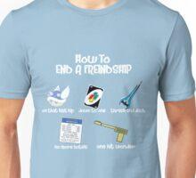 Ending Friendships Unisex T-Shirt