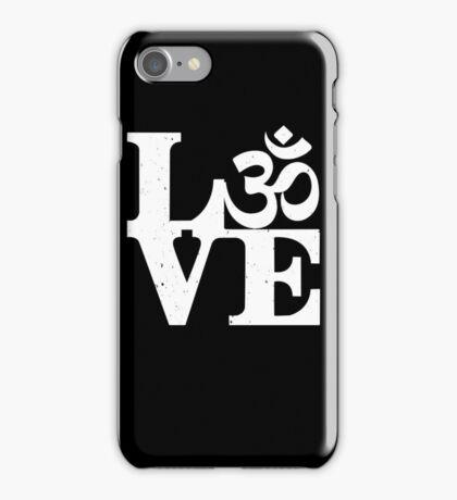 Om love iPhone Case/Skin