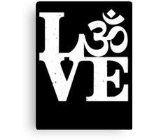 Om love Canvas Print