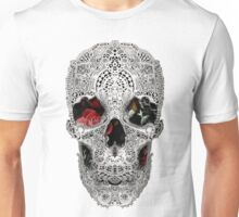 Lace Skull Light Unisex T-Shirt