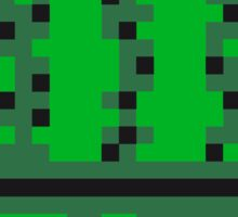 pixel nerd geek gamer videogame 2d 8 bit cactus design games zocken Sticker
