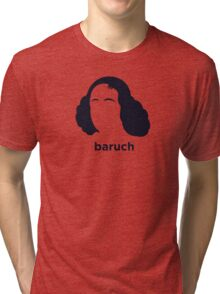 Baruch Spinoza (Hirsute History) Tri-blend T-Shirt