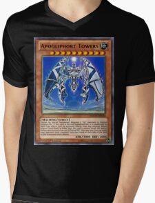 Qliphort Broken Mens V-Neck T-Shirt