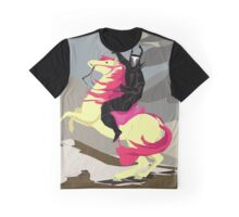 Apple Bloom And Black Knight Graphic T-Shirt