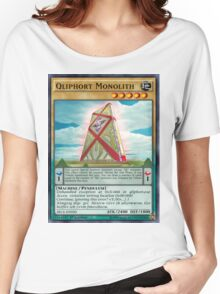 Qliphort Monolith Women's Relaxed Fit T-Shirt