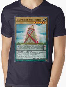 Qliphort Monolith Mens V-Neck T-Shirt