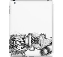 Spongebob with a Missile Launcher - White Accessories iPad Case/Skin
