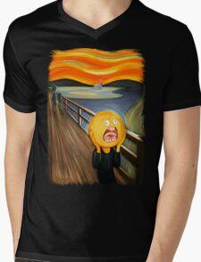 Rick and Morty - The Sun Scream Mens V-Neck T-Shirt