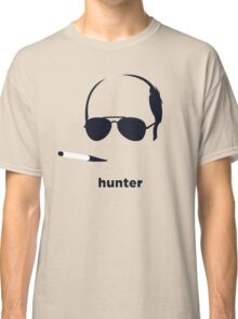 Hunter S Thompson (Hirsute History) Classic T-Shirt