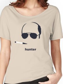 Hunter S Thompson (Hirsute History) Women's Relaxed Fit T-Shirt