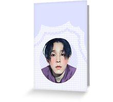 nam taehyun grid Greeting Card