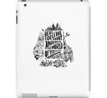You'll Be In My Heart (On White) iPad Case/Skin