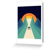Wonderful Trip Greeting Card