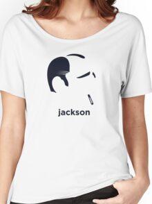 Jackson Pollock (Hirsute History) Women's Relaxed Fit T-Shirt