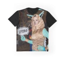 Lying Fox Graphic T-Shirt