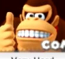 Donkey Kong Very Hard Expand Sticker