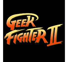 Geek fighter Photographic Print