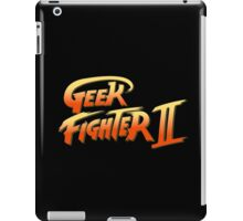 Geek fighter iPad Case/Skin