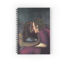 Richonne first kiss Spiral Notebook