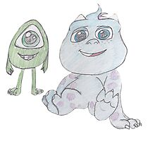 Mike and Sully Young Photographic Print