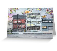 San Francisco Houses #10 Greeting Card